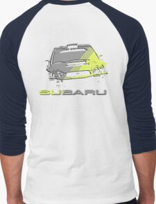 Subaru Impreza Men's Baseball ¾ T-Shirt