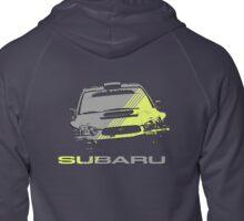 Subaru Impreza Zipped Hoodie