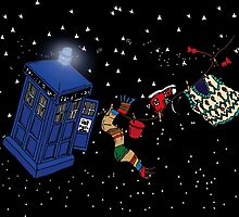Doctor Who TARDIS Clothes Line by jestevens