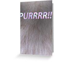 Purrrr!!! Greeting Card