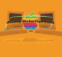 Apple logo Macintosh slogan by Zwieble