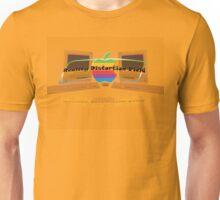 Apple logo Macintosh slogan Unisex T-Shirt