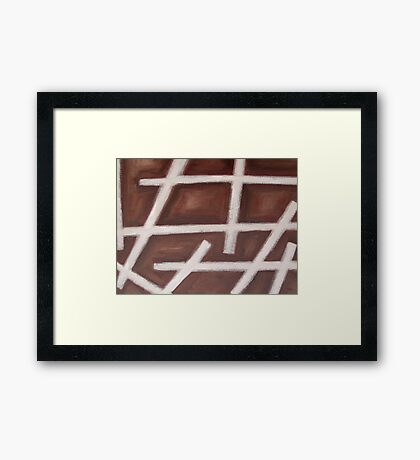 ABSTRACT 447 Framed Print