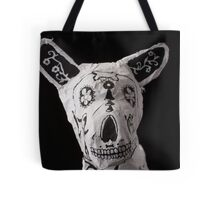 Day of the Dead Dog Tote Bag