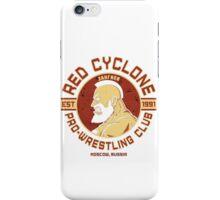 Street Fighter 2 Zangief Inspired Wrestling School iPhone Case/Skin