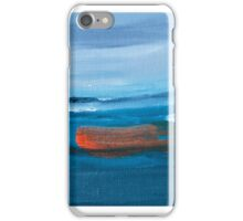 Boat Abstract Painting iPhone Case/Skin