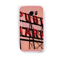Seattle's Pike Place Market Samsung Galaxy Case/Skin