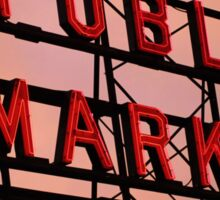Seattle's Pike Place Market Sticker