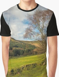 Sunny Winter Day in the Beacons Graphic T-Shirt
