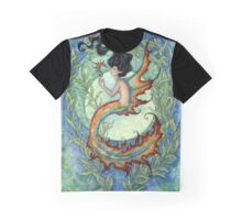 Exotic - Tropical Mermaid Graphic T-Shirt