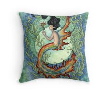 Exotic - Tropical Mermaid Throw Pillow