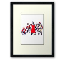 Tactical Tasty Operations Framed Print