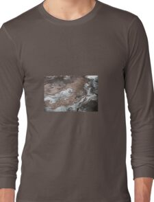 Oil in Water Patterns (1) Long Sleeve T-Shirt
