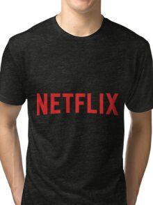 Netflix Logo Tri-blend T-Shirt