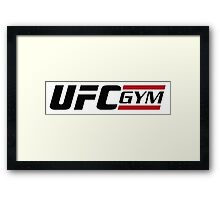 ufc gym Framed Print