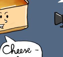 Talking Desserts: Camera and Cheesecake Sticker