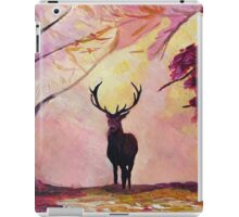 Deer coming from the glade -Style I iPad Case/Skin