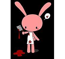 Butcher Bunny Photographic Print