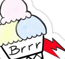Brrr Sticker