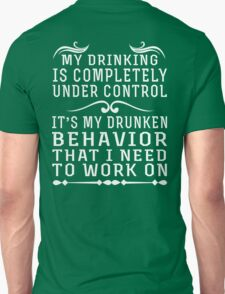 Funny Drinking T-Shirt
