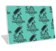 Snail on Frog Deux Laptop Skin