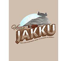 Visit Jakku Photographic Print