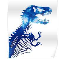 Tie-Dye Rex Poster