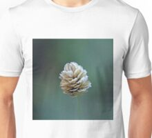 Frost on Grass Seed Head Unisex T-Shirt