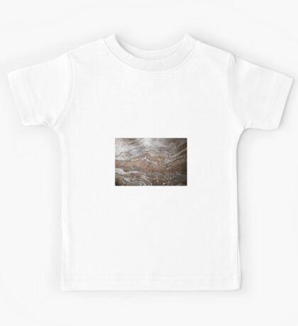 Oil in Water Patterns (4) Kids Tee
