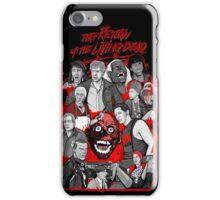 return of the living dead iPhone Case/Skin