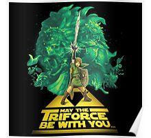 The Legend of Zelda - Triforce Poster