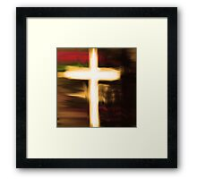 Cross Light Framed Print