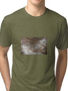 Oil in Water Patterns (5) Tri-blend T-Shirt