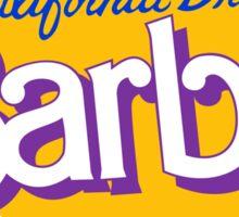 california dream barbie Sticker