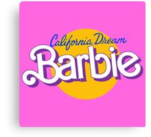 california dream barbie Canvas Print