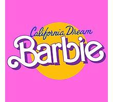 california dream barbie Photographic Print