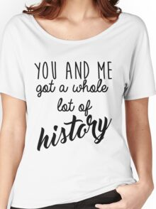 History Women's Relaxed Fit T-Shirt