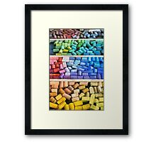 Colorful Pastels Framed Print