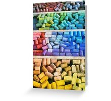 Colorful Pastels Greeting Card