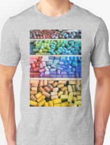 Colorful Pastels Unisex T-Shirt