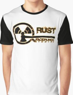 Rust Old Fashion Graphic T-Shirt