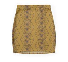 Geo-Flowers Mini Skirt