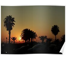 Hammamet Tunisia Sunset Poster