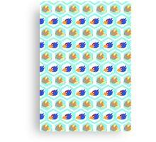 Melee Spacies Pattern Canvas Print