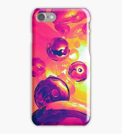 Surreal Spherical Entities iPhone Case/Skin
