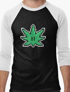8Bit Bud  Men's Baseball ¾ T-Shirt