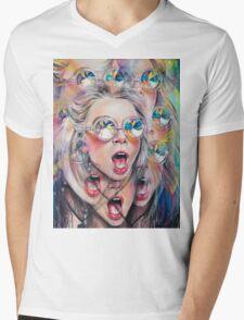 Perception Mens V-Neck T-Shirt