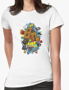 80's Baby Womens Fitted T-Shirt