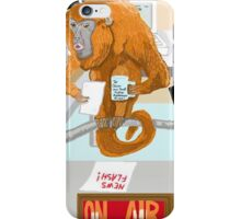 The News Announcer iPhone Case/Skin