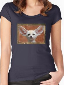 Cute Animals #2 Women's Fitted Scoop T-Shirt